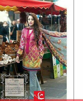 Lakhany Silk Mills by Farah Talib Aziz - lawn dress with pure  chiffon  dupatta