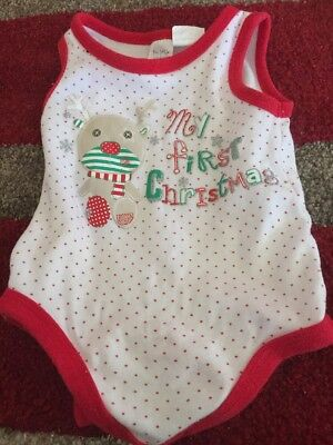 My First Christmas 🎄 One Piece Size 00