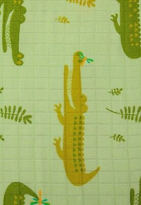 Tula CRIKEY CUDDLE ME Blanket SOLD OUT Adult Size Throw FAST SHIPPING Crocodiles