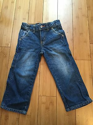Lee Dungarees Kids Jeans - Relaxed Straight Leg - Size 3T