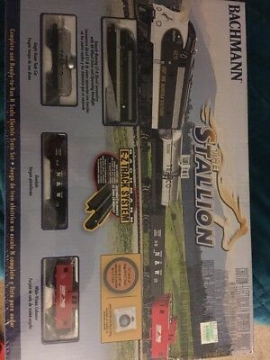 "N Scale Bachmann Item #24025 ""the Stallion"" Ready To Run Complete Train Set New!"