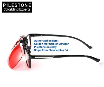 Pilestone GM-3 Color Blind Corrective Glasses for Red-Green Blindness (Color