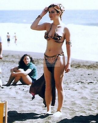 Actress Carrie Fisher Princess Leia Star Wars - 8X10 Publicity Photo (Op-952)