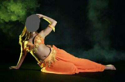 Orange Bellydance Costume