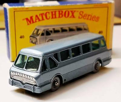Matchbox Series No.40 Long Distance Coach Leyland Royal  A Moko Lesney Product