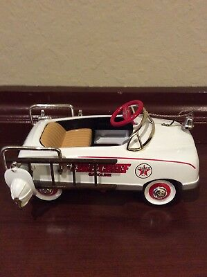 Texaco Fire Chief Limited Edition Pedal Car Bank. First In Series. NIB