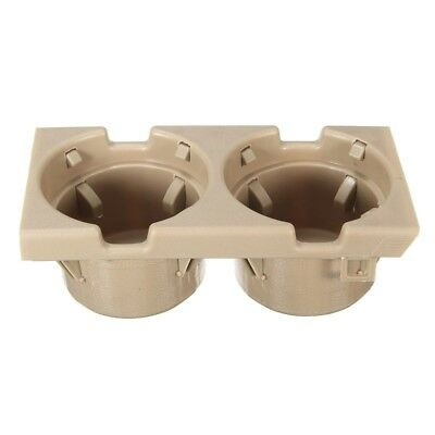 For BMW 3 Series E46 Front Center Console Drink/Cup Holder 51168217953 Beige