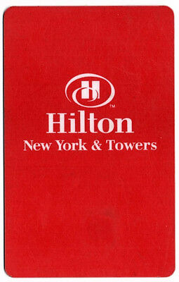 Hilton New York & Towers Hotel Card – Room Key - Used (PC170)