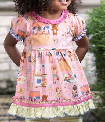 Matilda Jane Girls Puppeteer Tunic Sz 18-24 months NWT Sealed in Bag