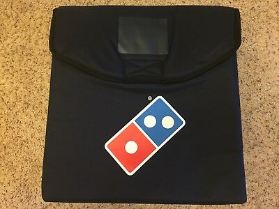 NEW Large Dominos Pizza Delivery Bag Thermal Heat Wave Hot Warm Insulated