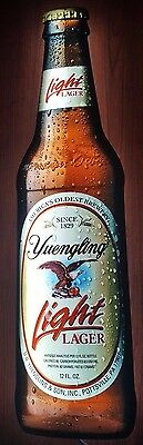 Yuengling Light Lager Bottle LED Sign Man Cave Pub Beer