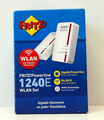 AVM FRITZ! Powerline 1240E / 1000E WLAN Set
