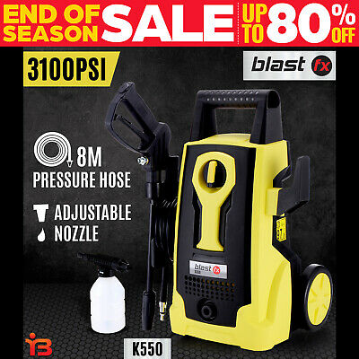 BLASTFX 3100 PSI High Pressure Washer Electric Water Cleaner Gurney Pump 8M Hose