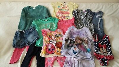 Unwanted Girls 4-5 Years Clothes Bundle 50 + Items