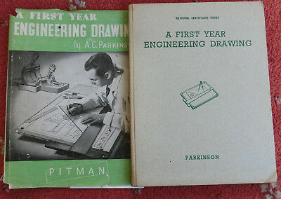 First Year Engineering Workshop Drawing - Pitman - Parkinson