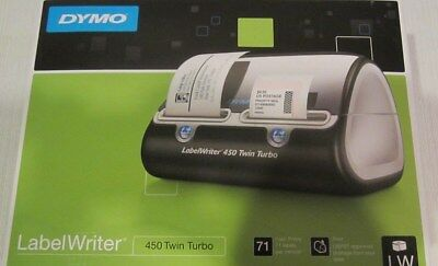 *New* DYMO Label Writer 450 Twin Turbo Label Printer in Factory Sealed Package