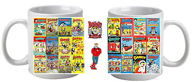 Collection of 24 Dandy Annuals on a Mug perfect Gift Stocking Filler