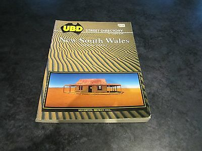 AUSTRALIA NEW SOUTH WALES STREET DIRECTORY - UBD CITIES & TOWNS 8th EDITION 1990