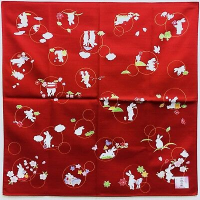 Japanese Wrapping Cloth FUROSHIKI Cotton 20 X 20 inches F/S From Japan