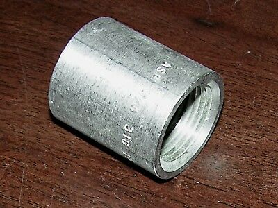 "3/4"" F NPT/FNPT Pipe 316 SS STAINLESS STEEL COUPLING FITTING, NEW"