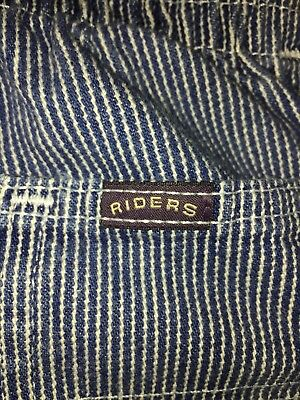 1990's Vintage Lee Riders Size 12m Baby Jeans