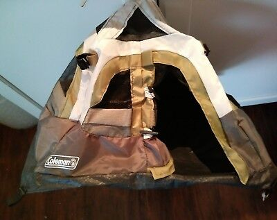 COLEMAN Mini SALESMAN'S SAMPLE Store DISPLAY TENT COVER W/Rain Fly DOLL SIZE