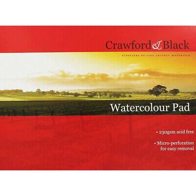 Crawford And Black Watercolour Pad, Art & Craft, Brand New