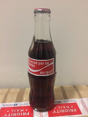 Coca Cola  bottle salute to customers from Costa Rica very rare