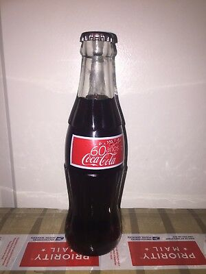 Coca Cola Coke bottle 60 Years Costa Rica good condition