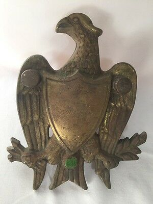Vintage Brass Eagle Door Knocker Washington