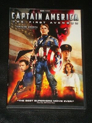 DvD movie Captain America The First Avenger, Chris Evans, Tommy Lee Jones RARE