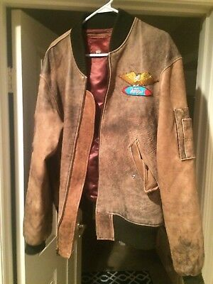 Beach Boys Band Member Owned/Worn Leather Jacket XL
