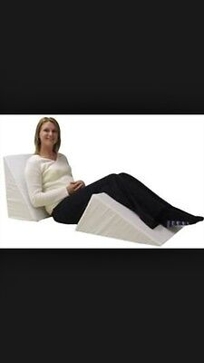 "Foam Bed Wedge 20"" X 10"" Great Circulation Pillow Sleep Aid"