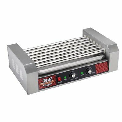 Professional Commercial 18 Hot Dog, 7 Roller Grilling Machine, Stainless steel