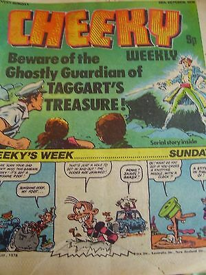 Cheeky Weekly 28Th October 1978