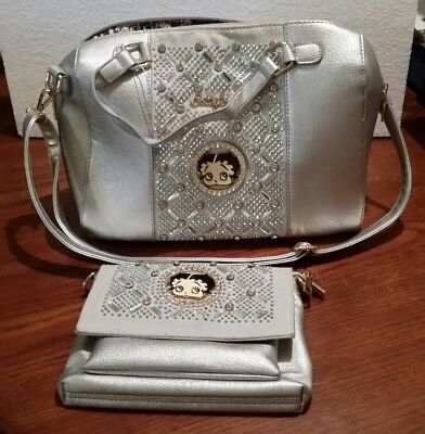 Betty Boop Purse And Matching Wallet
