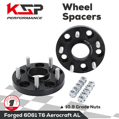 2X 20mm Wheel Spacers Hub Centric 5x4.5 114.3 12X1.5 studs For Tacoma 5 lug 4x2