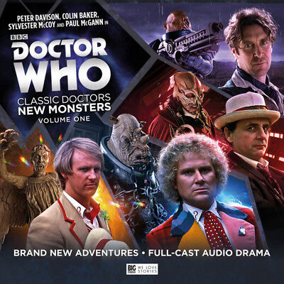 Doctor Who: Classic Doctors New Monsters: Volume One DVD