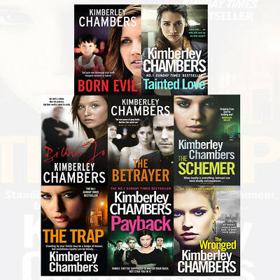 Kimberley Chambers The Trap 8 books Collection set Pack NEW Payback,The Schemer