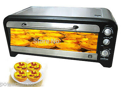 Black Commercial Pizza Oven Electric Pizza Toaster Oven Timer Kitchen Appliances