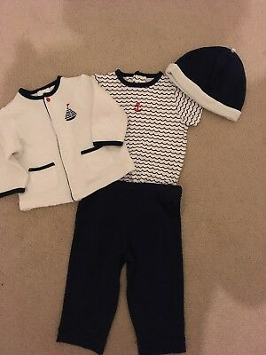 Baby Nautical Theme Unisex Outfit - Size 6 months - NEW & Unworn - great outfit!