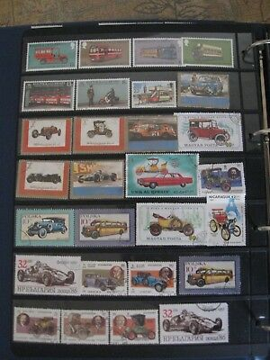 Album Page Of 'transport'  Top Quality Commemoratives , Page 1