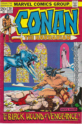 CONAN the Barbarian 20 with Barry Smith art