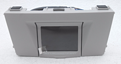 New OEM Toyota Tundra Sequioa Back-up Camera Monitor ONLY PT923-00081-11 Grey