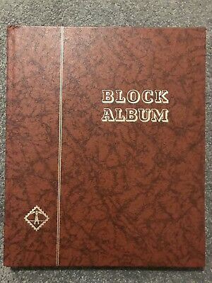 Lighthouse Stamp Block Album / Stockbook 16 Double Sided Black Pages