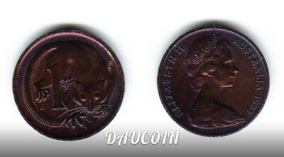 Australia. 1 Cent. 1973. AU. KM# 62. Beautiful violet patina