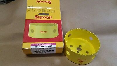 "Starrett 3-7/8"" (98 mm) Hole Saw BiMetal Dual Pitch (5-5)"