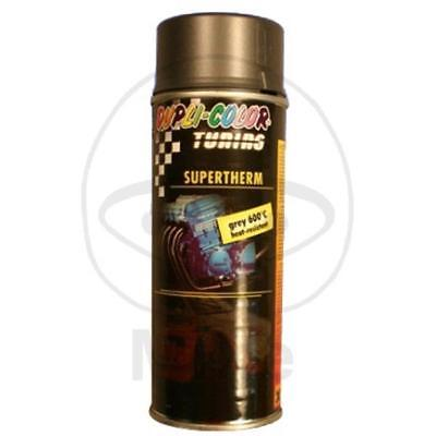 DUPLI-COLOR Motorschutzlack - spray 400 ml Supertherm grau 600°C matt 471544