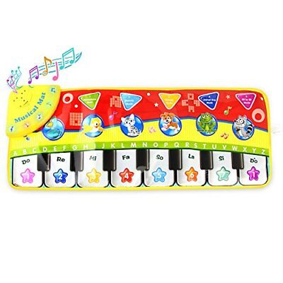 Toy Piano Keyboard PlayMat Musical Toy Floor Game For Baby Xmas Gift For Toddler