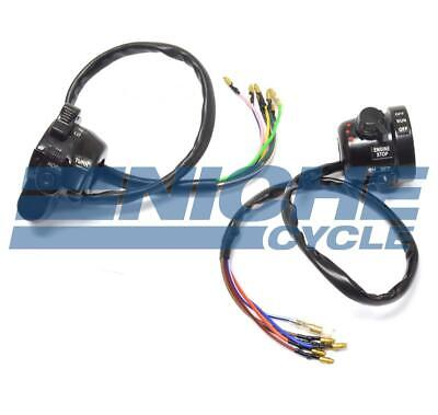 Yamaha RD350 Handlebar Left Right Side Switches Switch Set